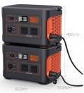 电小二1100Pro并联款户外电源2台并联功率2200W应急移动电源